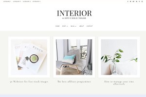 Interior - Divi WordPress Blog Theme