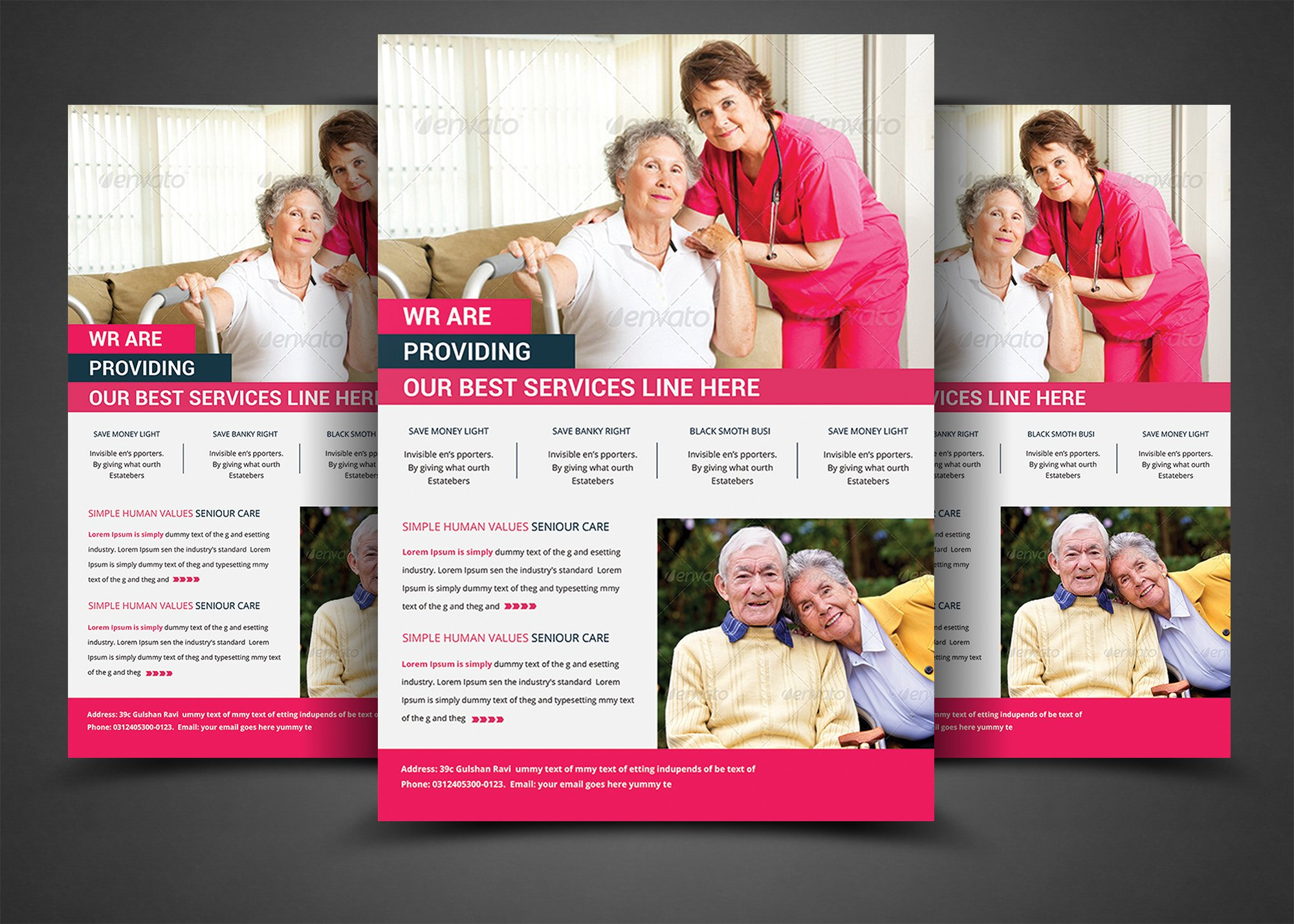 Elderly Care Flyer Print Templates Flyer Templates