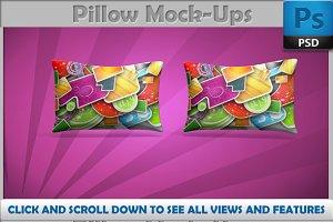Pillow Mockups 7 psd mockups