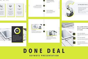 Done Deal Keynote Template