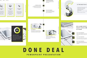 Done Deal PowerPoint Template