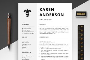 Nurse Resume Templates + Bonus