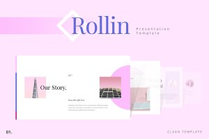 ROLLIN Powerpoint Template