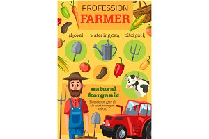 Farmer profession, tools