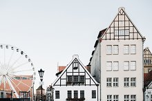 Ferris and traditional architecture by  in Architecture