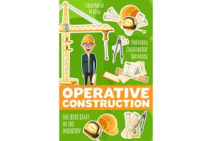 Operative construction, engineer