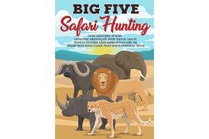 African safari hunting sport