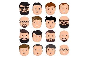 Men Male Human Face Head Hair Hairst