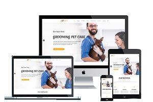 ET Pet - Animal Website template