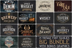 Big Bundle - 14 fonts
