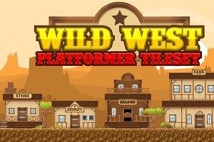 Wild West - Platformer Tileset