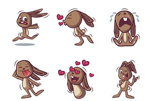 Rabbit Cartoon Illustration
