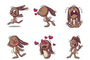 Rabbit Cartoon Illustration
