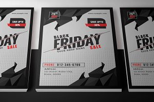 Black Friday Sale Flyer-V881