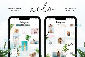 Instagram Puzzle - Xolo