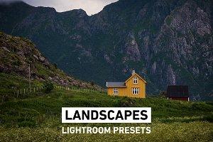 33 Landscape Presets for Lightroom
