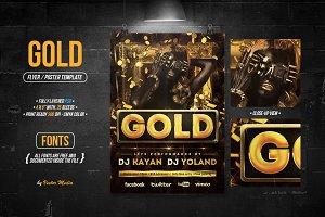 Gold - Flyer / Poster
