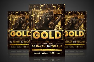 Gold - Flyer / Poster