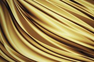 Gold luxury fabric background