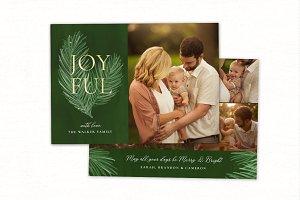 Christmas Card Template CC205