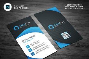 Modern Vertical Business Cards