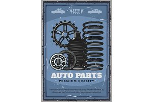 Auto parts store vehicle restoration
