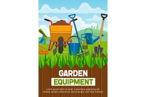 Gardening equipment and farming tool