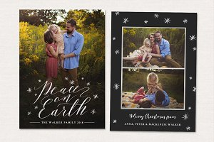 Christmas Card Template CC207