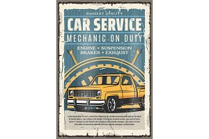 Car repairing service, engine brakes