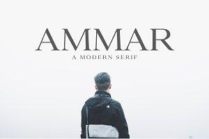 Ammar A Modern Serif
