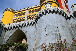 Pena Palace in Sintra.