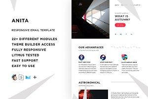Anita – Email template + Builder