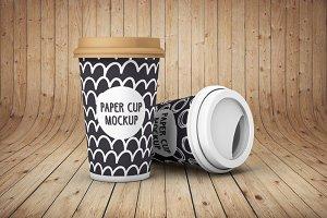 Paper Cup - Mockup
