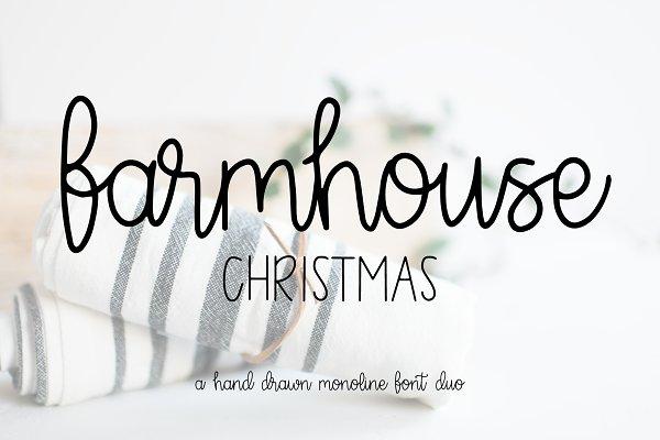 Farmhouse Christmas Script