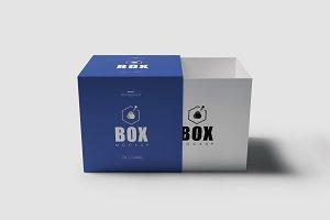 Square Box Mock-up 3