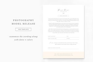 Photography Model Release Form