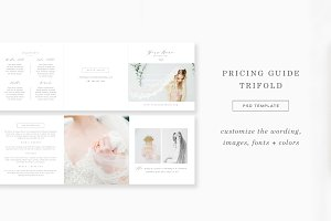 Photography Pricing Trifold