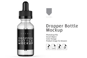 Dropper Bottle Mockup 3