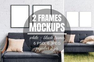 Picture Frame Mockup Set For 2