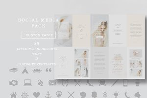 SALE! Social Media Pack Templates