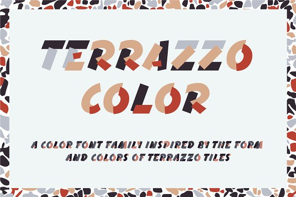 Fonts - Terrazzo Color Font Family