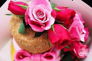Beautiful flower cake