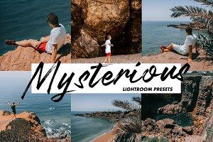 Mysterious Colors - Lightroom Preset