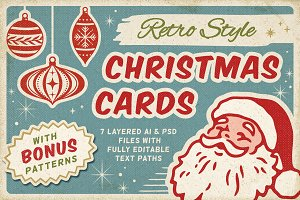 Retro Christmas Cards vol.2