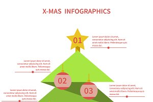 №22 Infographics as a Christmas tree
