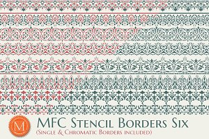 MFC Stencil Borders Six