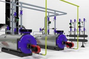 Industrial boilers Buderus SK655-250