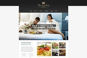 Cortina - Hotel WordPress Theme