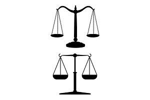 Equilibrium black scales