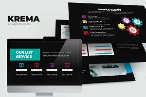 Krema : Creative Keynote Template
